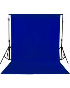 Bakgrunn Ensfarget Blå - 2.9x5 m