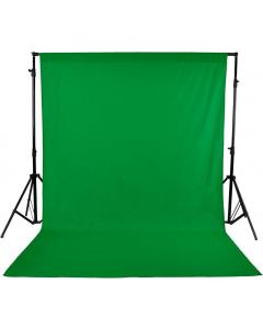 Bakgrunn Ensfarget Grønn - 2.9x5 m