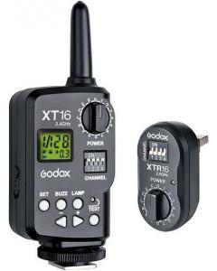 Trådløs Fjernutløser - Sender og Mottaker - Godox XT-16