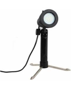 Lampe til produktfoto med sammenleggbart ministativ