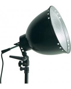 Lampeholder med Reflektor - 30 cm