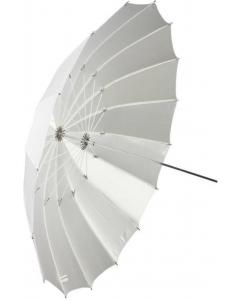 Paraply Halvtransparent Hvit - 150 cm