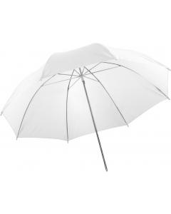 Paraply Halvtransparent Hvit - 105 cm