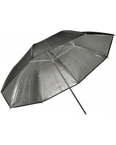 Paraply Høyreflektiv Sølv - 109 cm