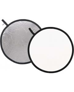Refleksskjerm 2i1 - 110 cm