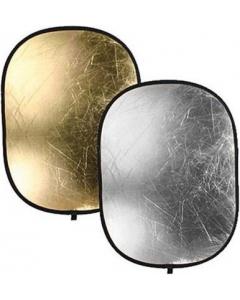 Refleksskjerm 2i1 - 70x110 cm