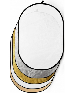 Refleksskjerm 5i1 - 100x170 cm