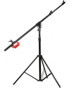 Bomstativ - Høyde: 102 - 175 cm