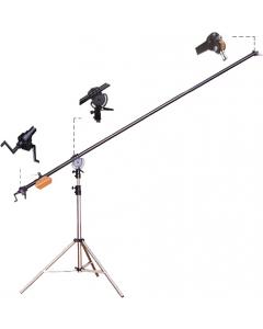 Bomstativ - Høyde: 140 - 256 cm