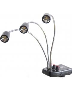 LED-lamper til Makrofotografering 3 stk. - Justerbar