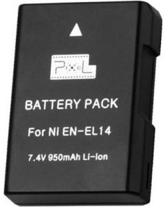 Batteri til Kamera - Nikon - Pixel EN-EL14