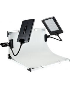 Fotobord med LED-lamper - 50x40 cm