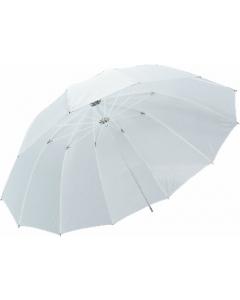 Paraply Halvtransparent Hvit - 170 cm