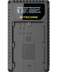 Batterilader til Canon - USB - Nitecore UCN1