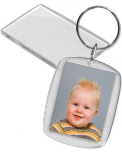Nøkkelring til passfoto - Rektangulær