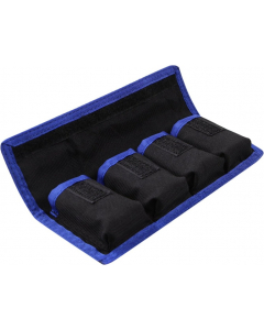 Bæreveske til kamerabatterier
