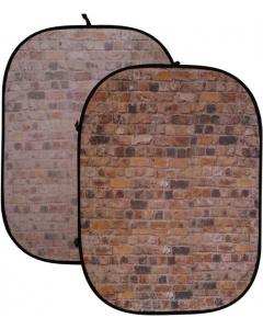 Bakgrunn Sammenleggbar - Murvegg - 150x200 cm