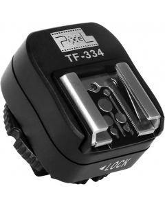 Blitsskoadapter med synkport for Sony til Canon - Pixel TF-334
