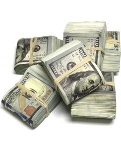 Falske pengesedler - $100 - Brukt utseende