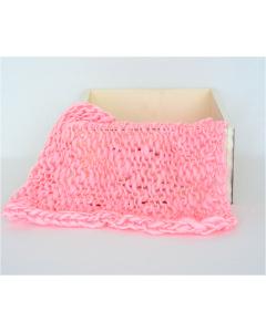 Pledd - Fiber - 50x50 cm - Blush rosa