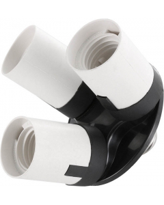 Splitter til Lampeholder 1 til 3 - E27-sokkel