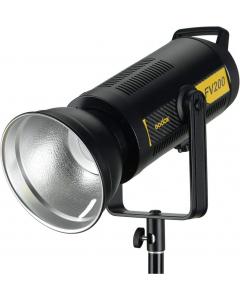 Studioblits og LED-lampe - Godox FV200