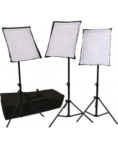 Kontinuerlig Lys - Pakke SB03 - 3x135W
