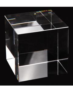 Krystallkube til fotografering - K9 - 100 mm