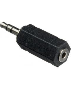 Adapter - 3.5 mm hann til 2.5 mm hunn