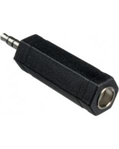Adapter - 3.5 mm hann til 6.35 mm hunn