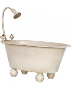 Dusjbadekar til nyfødtfotografering - Beige