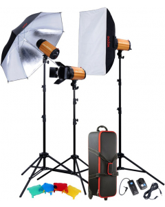Studiopakke - Godox Studio Smart Kit 250SDI-D