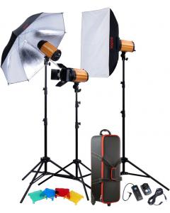 Studiopakke - Godox Studio Smart Kit 300SDI-D