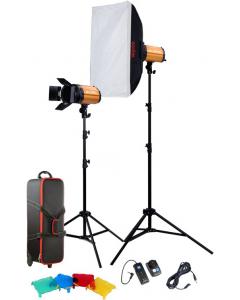 Studiopakke - Godox Studio Smart Kit 250SDI-E