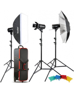 Studiopakke - Godox Studio Kit E250-D