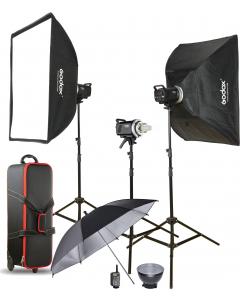 Studiopakke - Godox MS200-D Kit