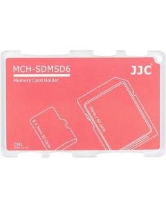 Minnekortholder - 2x SD + 4x MicroSD