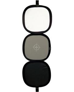 Gråkort/Hvitkort/Sortkort - 30 cm
