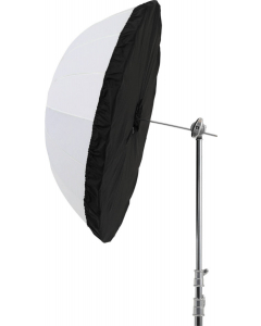 Diffusor til Paraply - Sølv/Sort - 105 cm - Godox DPU-105BS