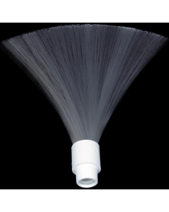 Fiberbørste Hvit - Light Painting Brushes 9in White Fiber Optic