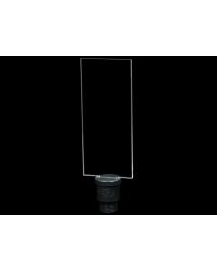 Pleksiglass Rektangel - Light Painting Brushes 9in Plexiglass Rectangle