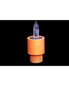 Krystallpenn Oransje - Light Painting Brushes Orange Crystal Light Pen
