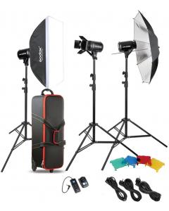 Studiopakke - Godox Studio Kit E300-D