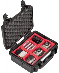 Utstyrskoffert - Explorer Cases 2712 - Innredet - 276x200x120 mm