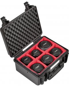 Utstyrskoffert - Explorer Cases 3818 - Innredet - 380x270x180 mm