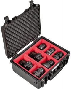 Utstyrskoffert - Explorer Cases 4419 - Innredet - 445x345x190 mm
