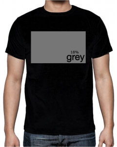 T-skjorte - 18% Grey - Large