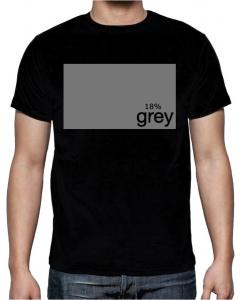 T-skjorte - 18% Grey - XLarge