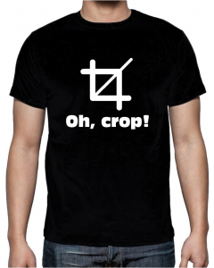 T-skjorte - Oh Crop - Small