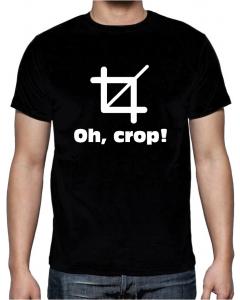 T-skjorte - Oh Crop - XLarge